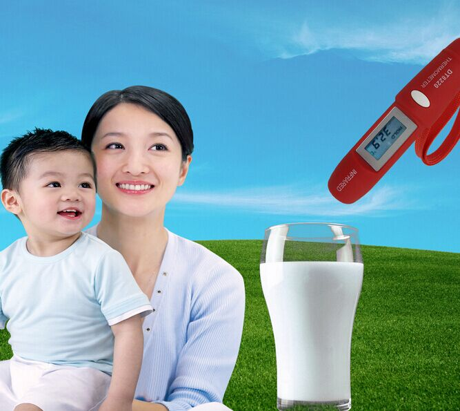 DT8220 New Mini Pen Type Non-Contact LCD Display Digital Infrared Thermometer  For Household Temperature Measurement