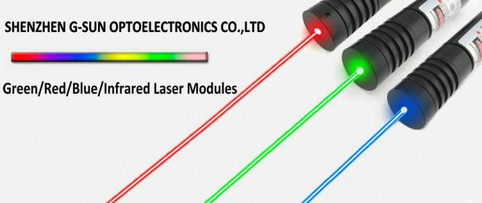 650nm 100mw Square Grid Red Laser Module