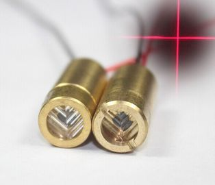 China Cheap 650nm red cross line laser module supplier
