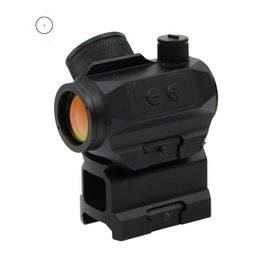 HD-27 1x20mm Waterproof IPX7 Compact 2 MOA Red Dot Sight For Accurate Aiming And Outdoor Hunting